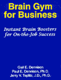 Brain-Gym for Business -Book, Dennison - Dr. Jerry Teplitz