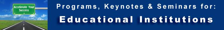 Educators Programs Keynotes Seminars