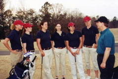 Women's Golf Team Univ of PA Teplitz Coach