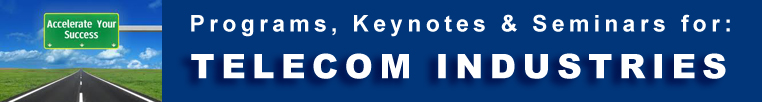 Telecom Industries -  Programs Seminars Keynotes