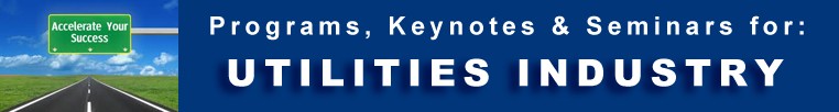 Utilities Industry -  Programs Seminars Keynotes