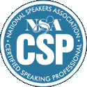 Certified Speaking Professional CSP Designation - Dr. Jerry Teplitz