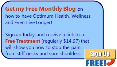 Free Newsletter - Free Shiatsu Treatment - Sign up now for free